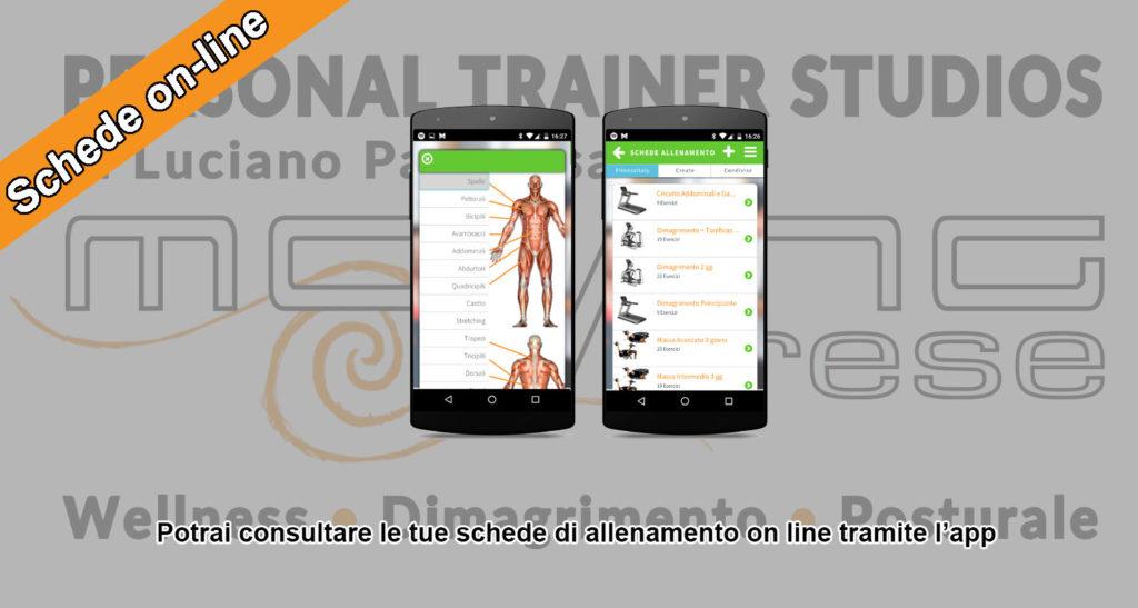 Schede di allenamento on-line